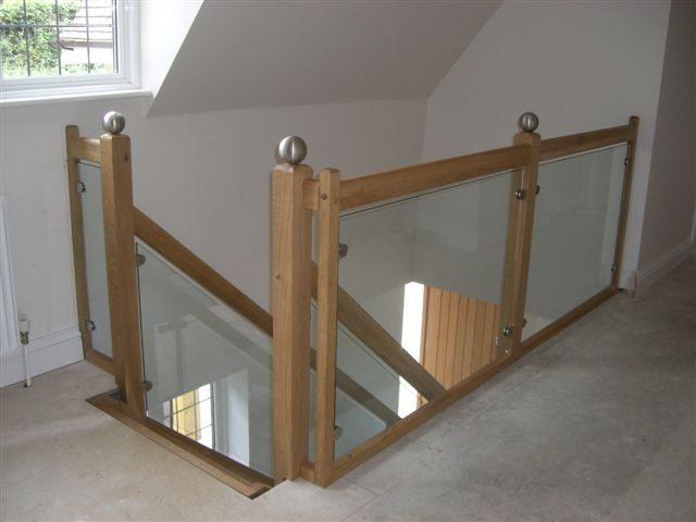 stairs ideas to attic - Landing Balustrade