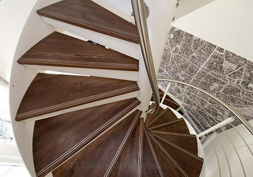 Bespoke Spiral Staircase - London 102
