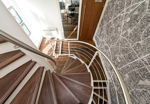 Bespoke Spiral Staircase - London 103