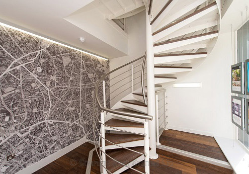 Bespoke Spiral Staircase - London 105
