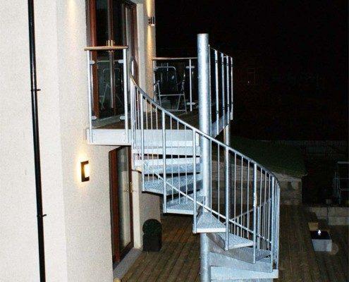 Bespoke Spiral Staircase Aberdeen - External Spiral