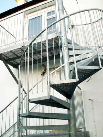 Bespoke Spiral Staircase Barnstaple In Steel Case Study