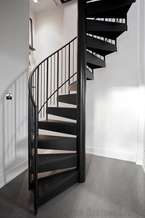 Bespoke spiral staircase bristol spiral stair loft for Spiral stair