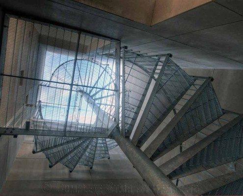 Bespoke Spiral Staircase Farnham - Steel Spiral