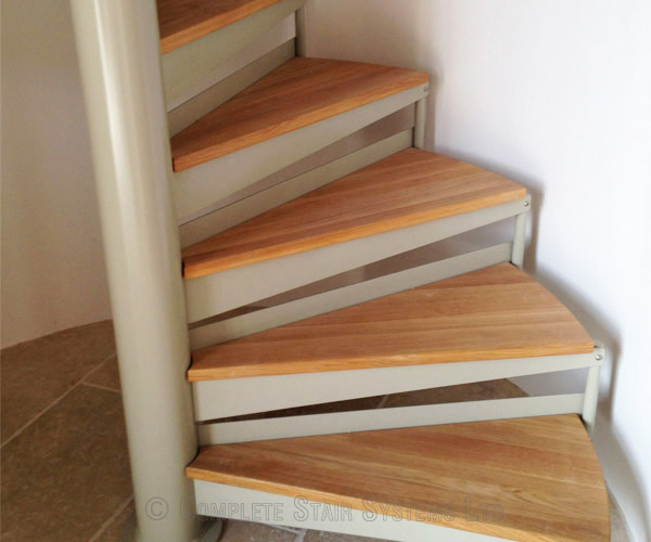 Bespoke Spiral Staircase Norwich Oak Treads Amp Glass
