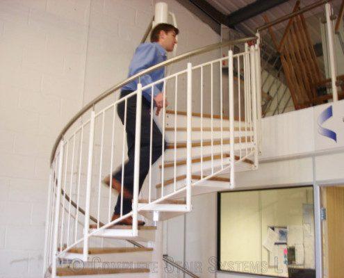 Bespoke Spiral Staircase Romsey