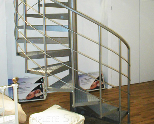 Bespoke Spiral Staircase - Shop Manchester