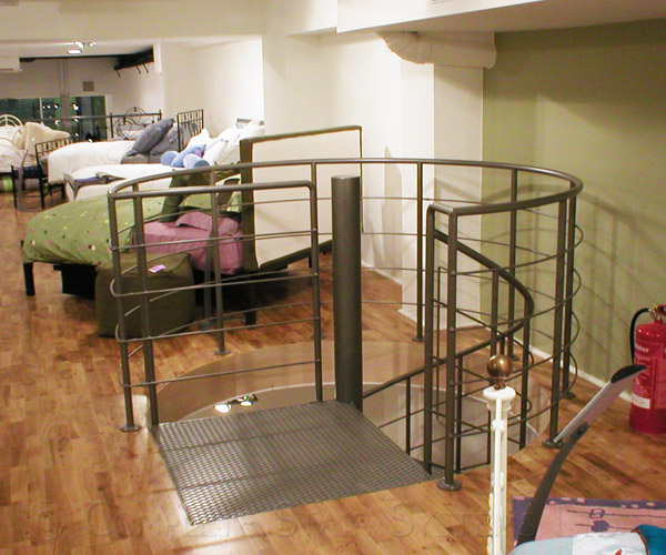 Spiral Staircase Shop Project Manchester With Steel