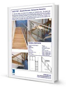 Bespoke Staircase Basingstoke .