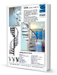 Civik-Spiral-Staircase-Product-Sheet