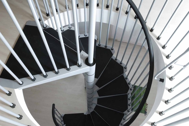 Spiral Staircase Civik Supplied From In Kit Form From Italy