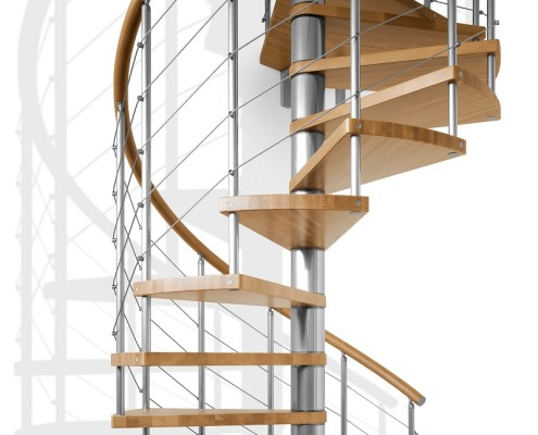 Kit Spiral Staircase - Genius 010