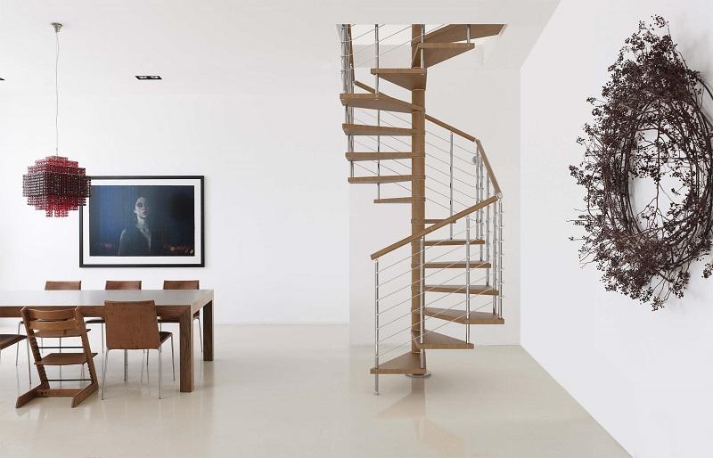 Kit Spiral Staircase - Genius 050
