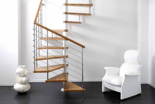 kit spiral staircase genius 060 5 spiral staircases