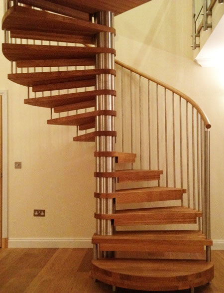 Spiral Staircase Aberdeen Model 71 Bespoke Flight