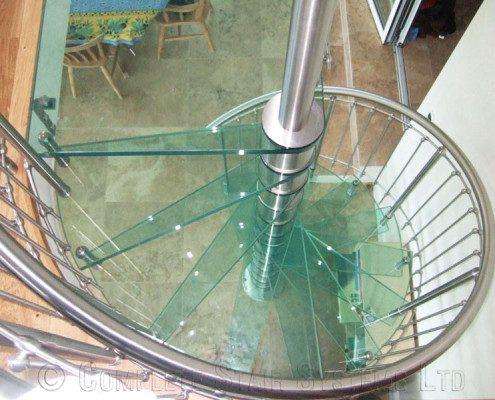 Spiral Staircase Guernsey - Model 76