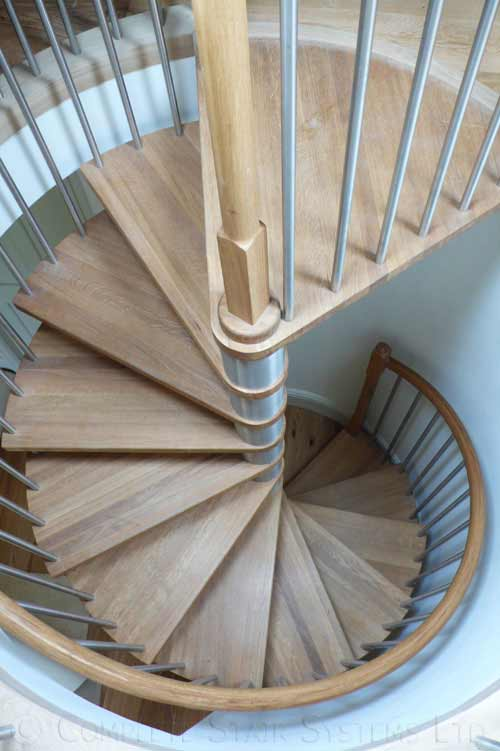 Spiral Staircase Shaftesbury Model 71 Bespoke Spiral Stair