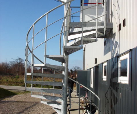 Bespoke Spiral Staircase -Factory Kent