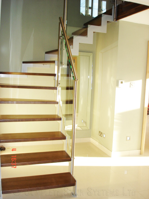 Beech Stained Treads