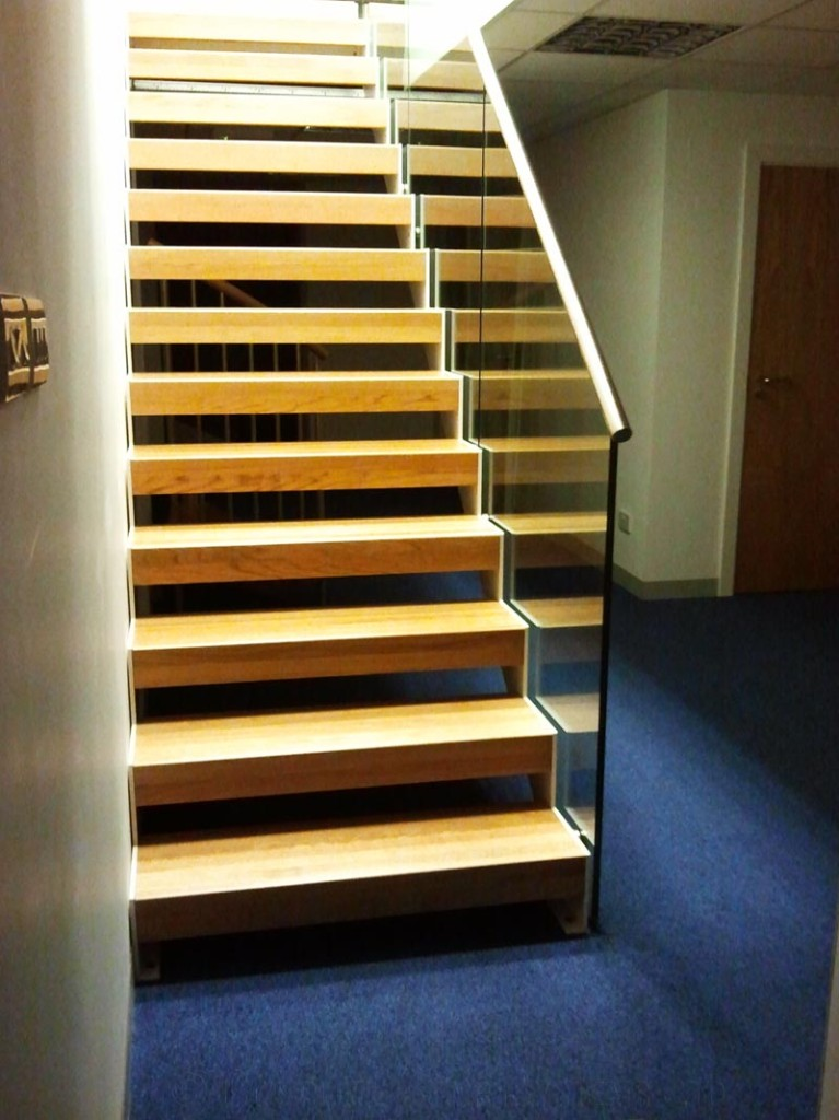 Bespoke Staircase Romsey With Oak Treads View Case Study