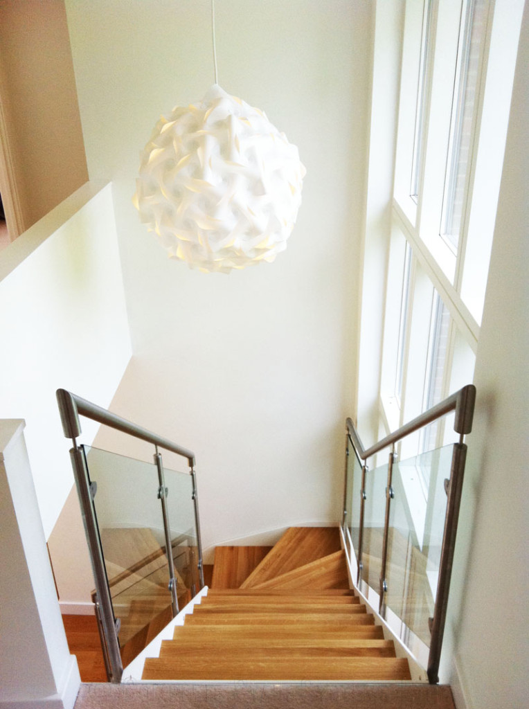 Bespoke Staircase Surrey Quarter Turn Stair With Solid
