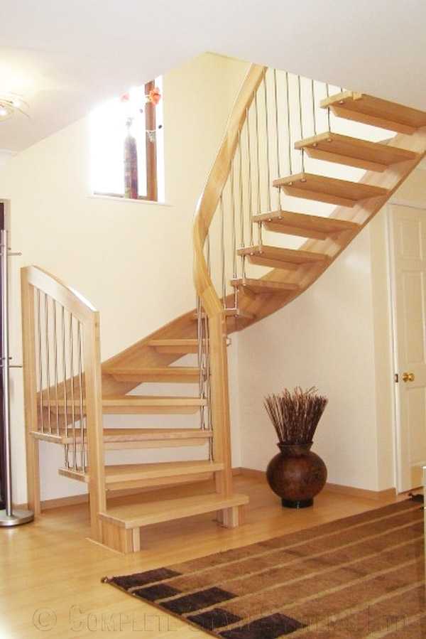 Bespoke Timber Staircase Bude Stair Project With