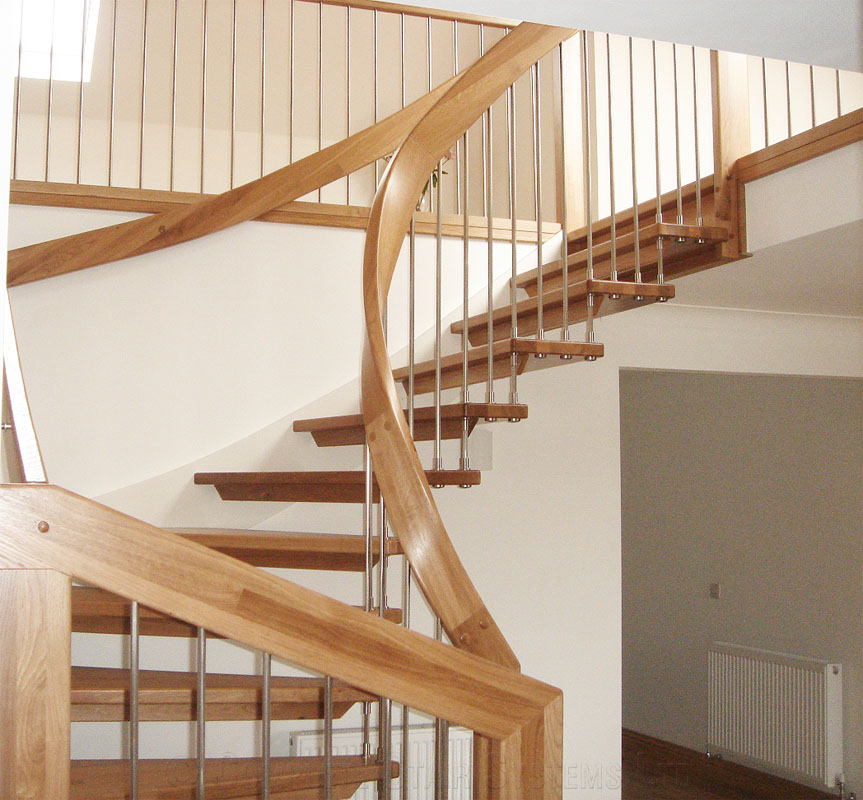 Timber Staircase Price: Part Of A Loft Conversion