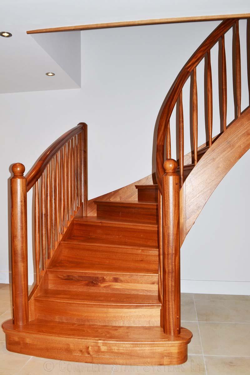 Bespoke Timber Staircase Radlett