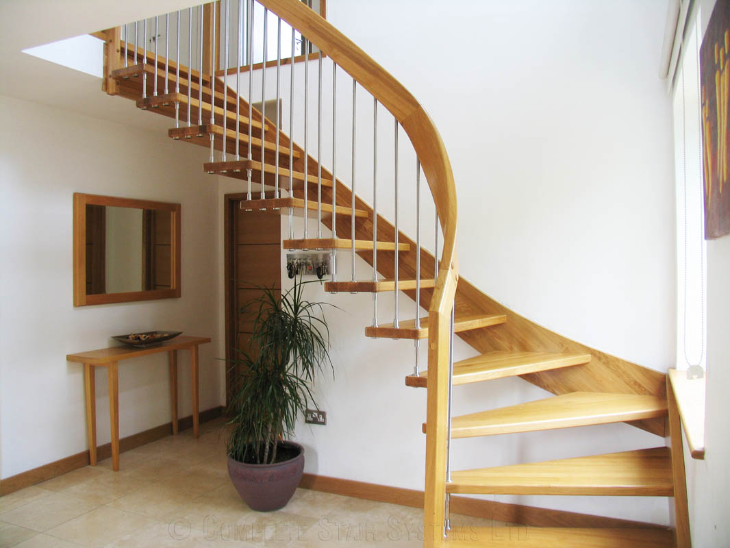 Bespoke Timber Staircase Sevenoaks Spiral Staircases And