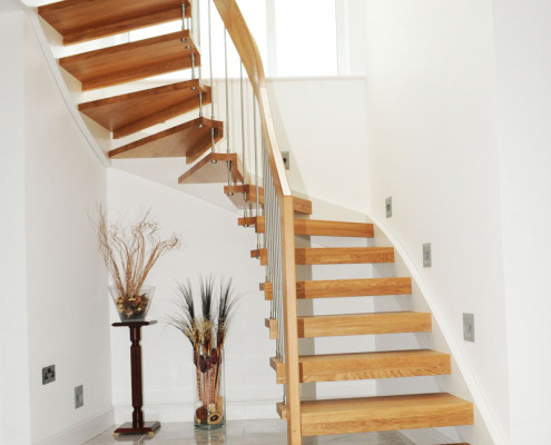 Bespoke Timber Staircase - Southampton