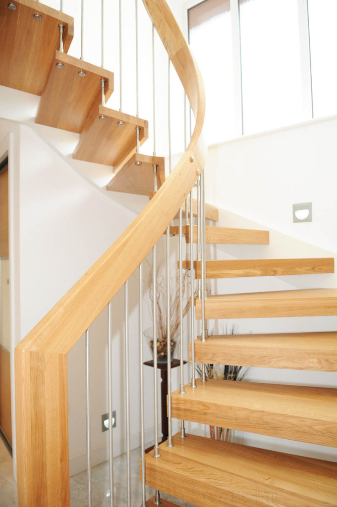 Timber Staircase Southampton With Oak Treads Professional