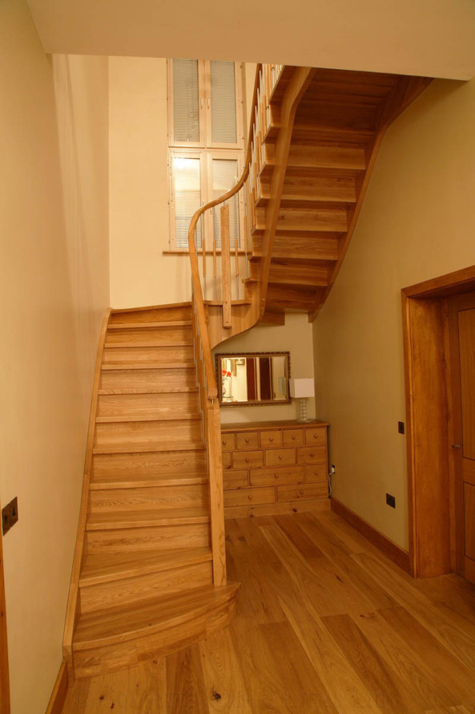 Bespoke Timber Staircase In Swavesey Near Cambridge