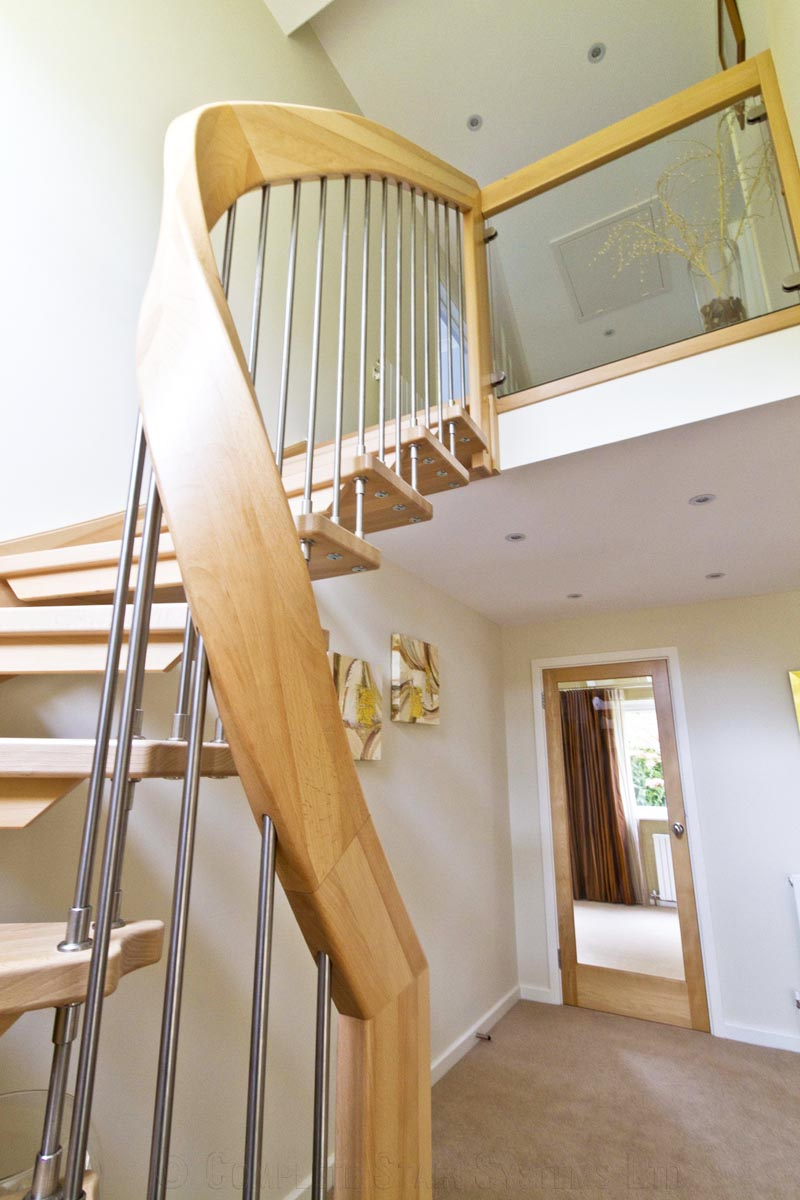 Bespoke Timber Staircase Tadley