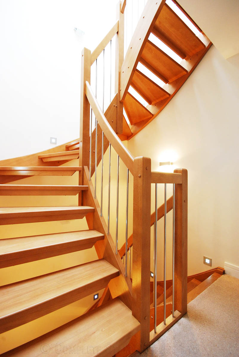 Bespoke Timber Staircase - West London