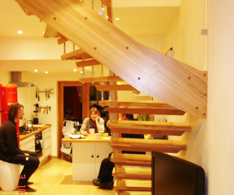 Bespoke Timber Staircase Winchester
