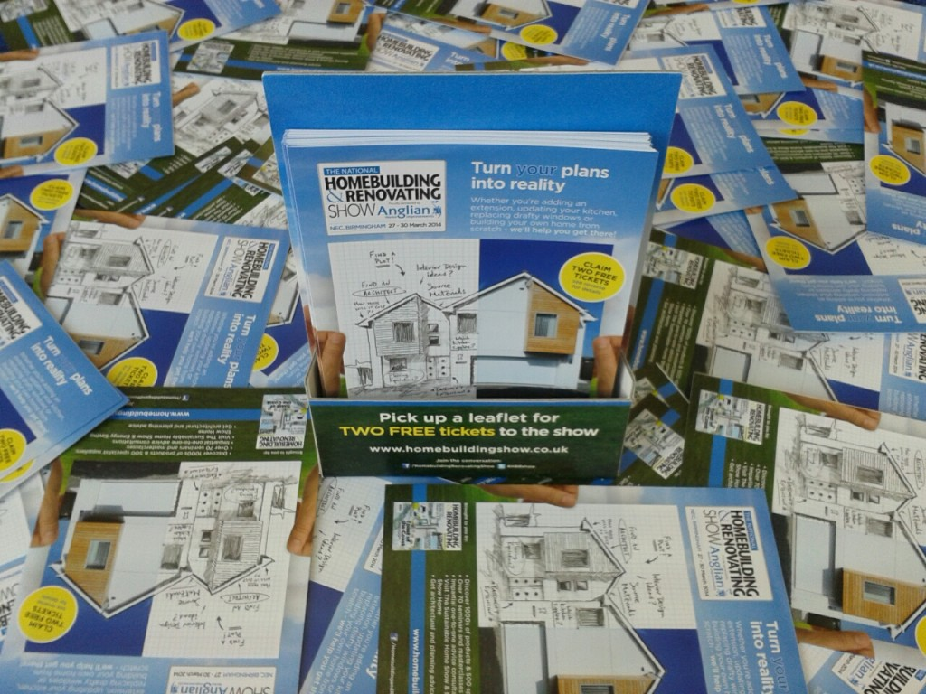 Homebuilding Show - free tickets