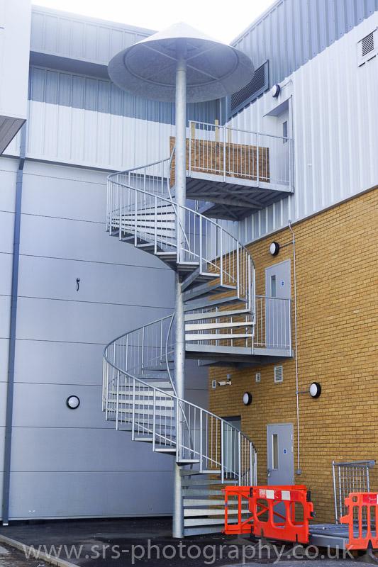 Merveilleux Spiral Staircase   External ...