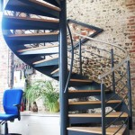Commercial Spiral Staircase - Wickham, Hampshire