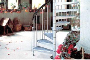 Spiral Staircases - Kit Spiral Stair Civik Zink