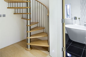 Spiral Staircases - Project Gloucester