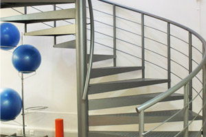 Spiral Staircases - Project -Health Spa Berkshire