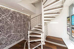 Spiral Staircases - Project -Office London
