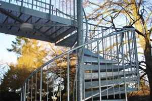 Spiral Staircases - Project Romsey