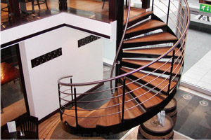 Spiral Staircases - Project Wine Bar London