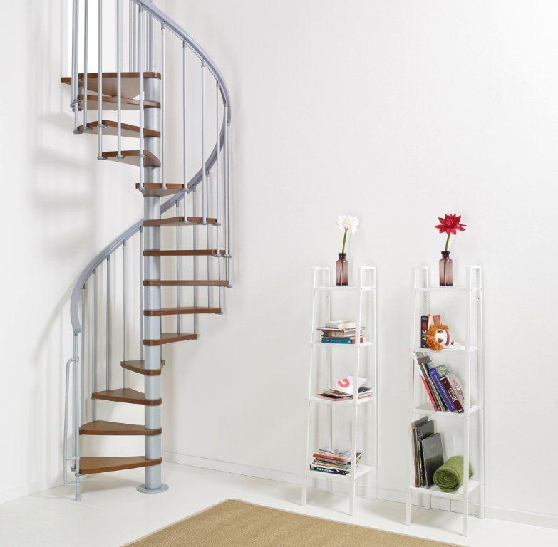 Stairs For Small Areas: Spiral Staircases And Staircases