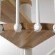 Spiral Staircase Oak 70