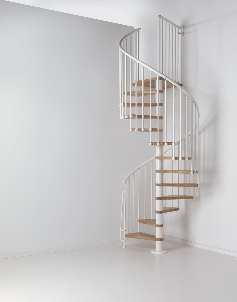 oak 70 spiral staircase a kit spiral with oak treads