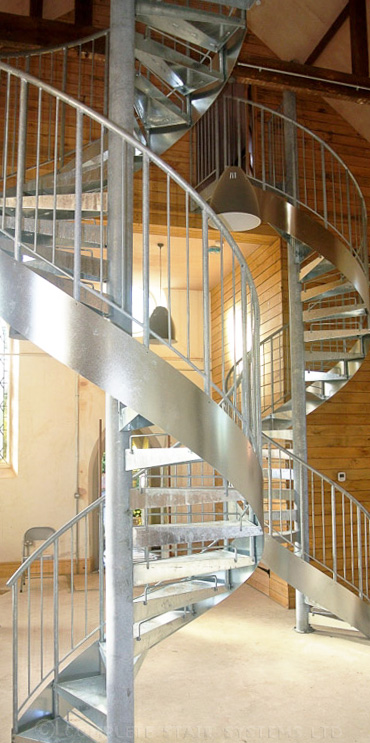 Spiral Staircase Blandford Forum Double Internal Spiral