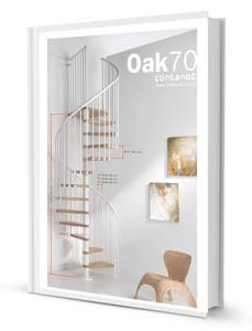 Spiral Staircase Oak 70 Product Sheet
