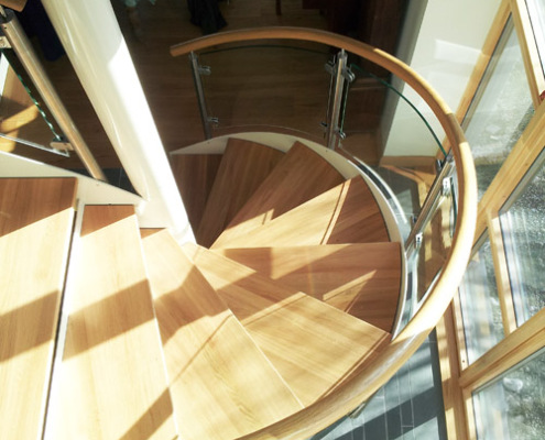 Spiral Staircase Ullapool Scotland